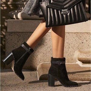 Michael Kors Livvy Suede Ankle Boot✨NEW